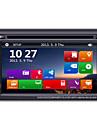 6,2 2DIN tft pekskärm in-dash bil DVD-spelare med GPS bt radio sd / usb rds 800 * 480screen upplösning
