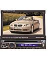 Lecteur de 7 pouces 1din-écran TFT au tableau de bord de voiture dvd panneau amovible avec GPS, BT, RDS, iPod, écran tactile