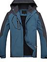 Randonnées Hauts/Tops Homme Etanche Respirable Garder au chaud Séchage rapide Pare-vent Automne Hiver 100 % Polyester Vert Rouge BleuL XL