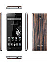 "HT5 5.0 "" Android 5.1 Smartphone 4G ( Double SIM Quad Core 13 MP 1GB + 16 GB Noir Abricot Bois )"
