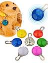 Chat Chien Etiquettes Etanche Lampe LED Sécurité Solide Rouge Blanc Vert Bleu Incanardin Jaune Orange Plastique