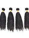 Tissages de cheveux humains Cheveux Brésiliens Bouclé tissages de cheveux