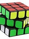 Yongjun® Cub Viteză lină 3*3*3 Viteză Cuburi Magice Estompeze Negru autocolant neted Guanlong Anti-pop / arc ajustabil ABS