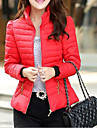 Women's Winter Fashion Stand Collar Cotton-padded Clothes Slim Outerwear