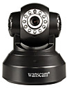 wanscam® caméra IP PTZ jour nuit Wi-Fi Protected Setup mouvement de détection p2p sans fil