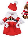 Câine Costume Îmbrăcăminte Câini Draguț Cosplay Crăciun Desene Animate