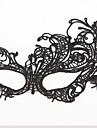 Masque Cosplay Fête / Célébration Déguisement d'Halloween Noir Dentelle Couleur Pleine Masque Halloween Unisexe
