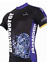 PALADIN® Maillot de Cyclisme Homme Manches courtes Vélo Respirable / Séchage rapide / Résistant aux ultraviolets Maillot / Hauts/Tops