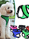 Hundar Selar Justerbara/Infällbar Andningsfunktion Solid Röd Svart Grön Blå Purpur Ros Nylon Nät
