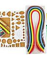 400pcs quilling papier de bricolage kit art de la décoration / 7pcs ensemble