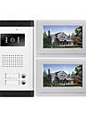 Un à deux interphone vidéo (7 Avec fil - Système Mains-Libres