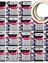 18 motif différent outil de prise de modèle Nail Art donner 2pcs nail art adhésive du ruban