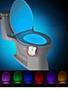 brelong modernizate impermeabil mișcare veioza toaletă activat condus toaletă lumina baie washroom dc4.5v