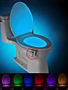 rörelse aktiveras toalett natt ledde toalett ljus badrum tvättrum