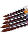 5PCS nail art acrylique Pen Brush N ° 4-12