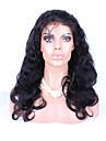 """8 """"-26"""" brasilianskt jungfruligt hår förkroppsligar vinkar limfria spets peruk spets front peruk färg naturligt svart baby hår för svarta"""