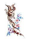 #(5) Tatouages Autocollants Séries de totem Motif ImperméableHomme Femelle Adolescent Tatouage Temporaire Tatouages temporaires