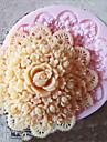 Moule de Cuisson Fleur Pour Gâteau Pour Cookie Pour Tarte Silikon Ecologique Haute qualité Bricolage