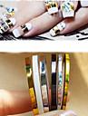 5 Manucure Dé oration strass Perles Maquillage cosmétique Nail Art Design