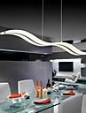 40 Lampe suspendue ,  Contemporain Chrome Fonctionnalité for LED AcryliqueSalle de séjour Chambre à coucher Salle à manger Bureau/Bureau