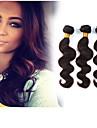 Tissages de cheveux humains Cheveux Brésiliens Ondulation naturelle 3 Pièces tissages de cheveux