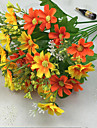 Une succursale Polyester Marguerites Fleur de Table Fleurs artificielles 88(34.5'')