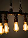 MAX 40W Hängande lampor ,  Traditionell/Klassisk / Vintage / Utomhus / Rustik / Kontor/företag Målning Särdrag for Ministil MetallLiving