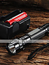 WF-501b u2 Cris XM-L u2 1200 lumens lampe led + 2 x 18650 3000mah Batterie + Chargeur