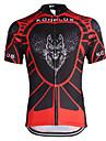Kooplus Camisa para Ciclismo Homens Manga Curta Moto Respirável Secagem Rápida Camisa/Roupas Para Esporte Blusas Poliéster Riscas