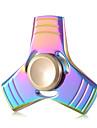 Spinner antistres mână Spinner Jucarii Tri-Spinner aluminiu EDCStres și anxietate relief Birouri pentru birou Ameliorează ADD, ADHD,