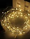 3m 30led 3aa 4.5V baterie decorare rezistent la apă a condus lumini de cupru sârmă șir de Crăciun festival petrecere de nuntă