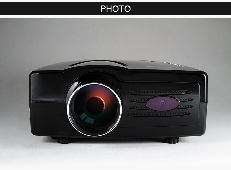 Lcd Home Theater Video Projector 1080p Hdmi Hd Tv Wii Ps3