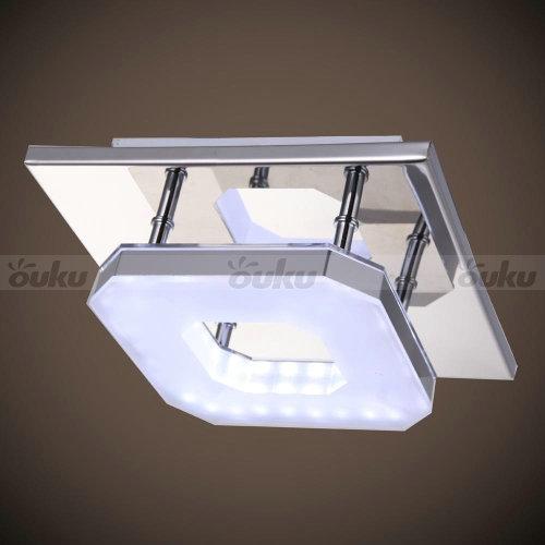 White Acrylic Led Ceiling Light Fixture Flush Mount Lamp: White LED Acrylic Chandelier Lights Ceiling Light Fixture