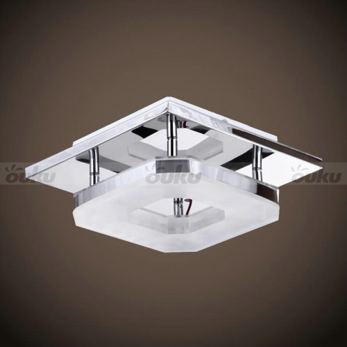 Modern 8w led flush mounted ceiling down light wall Ceiling mounted bathroom light fixtures