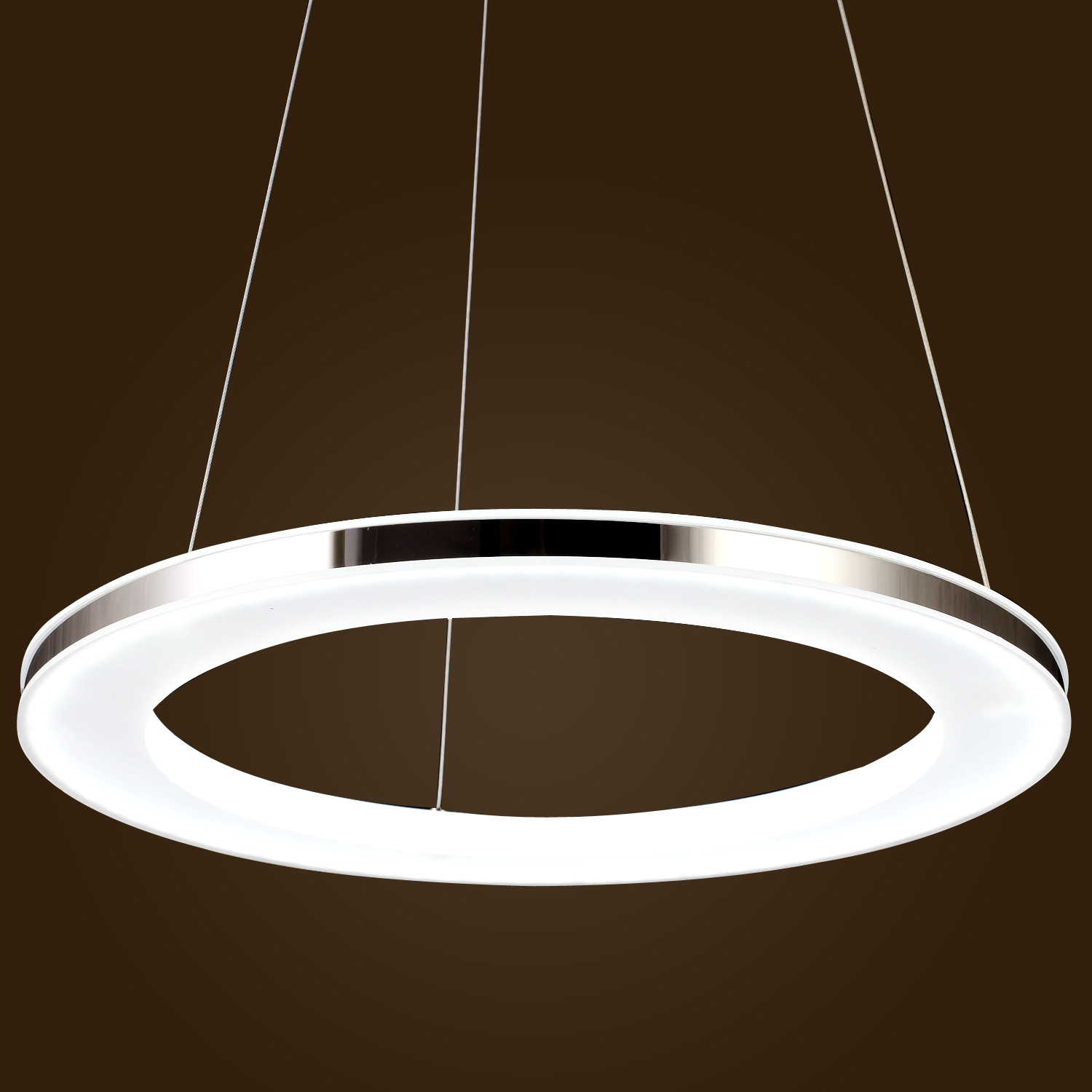 Acrylic pendant ceiling light led modern chandelier chic for Modern hanging pendant lights