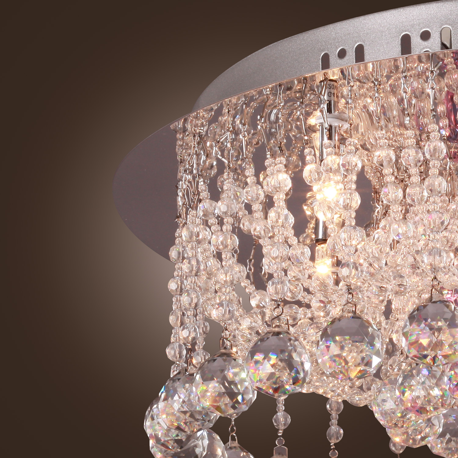details about elegant crystal chandelier 12 lights louis xvi design