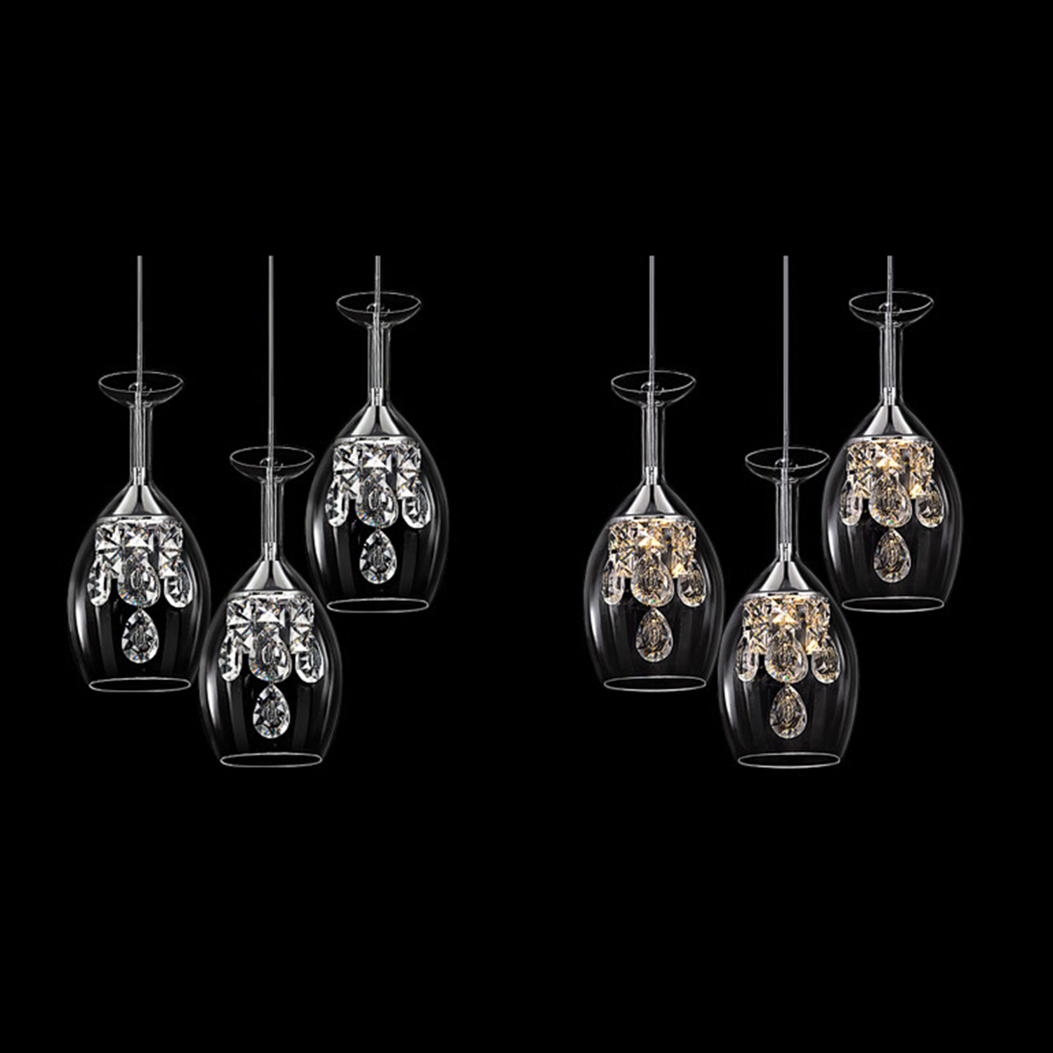 Mini Chandelier Pendant Lights