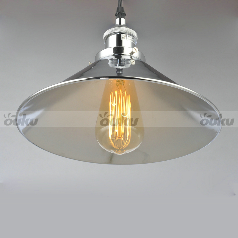 Simple Pendant Lights Metal Nickel Fixture Beautiful