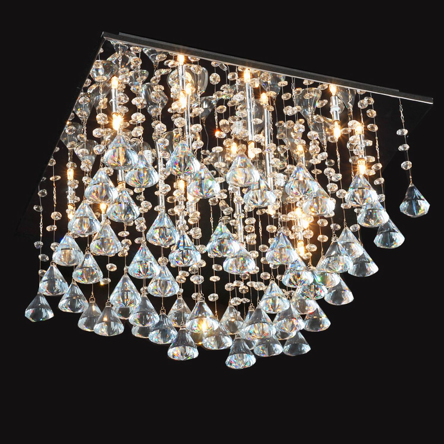 Dining Room Chandeliers Traditional Crystals: Chandeliers Crystal Glass Traditional/Classic For Living