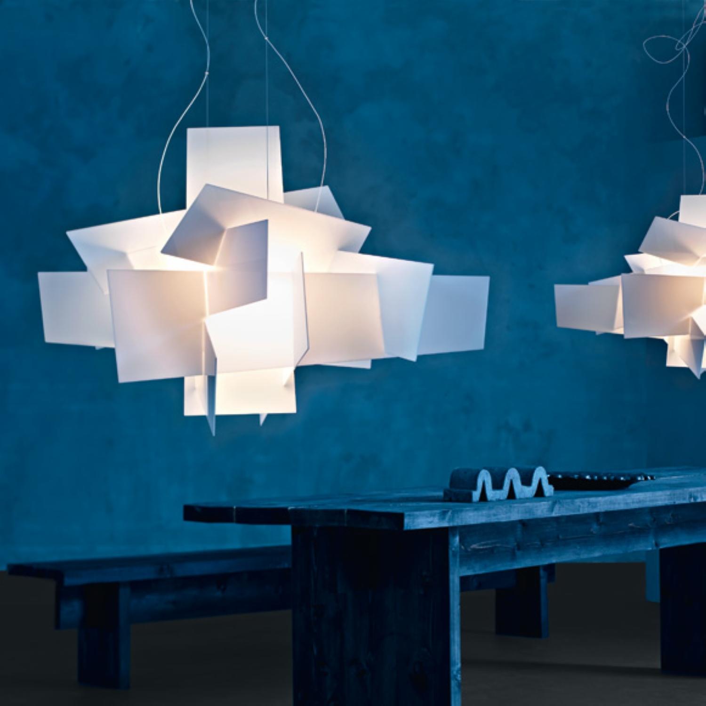 new designer lamp big bang suspension pendant lamp chandelier  - whiteexplosion acrylic chandeliers v