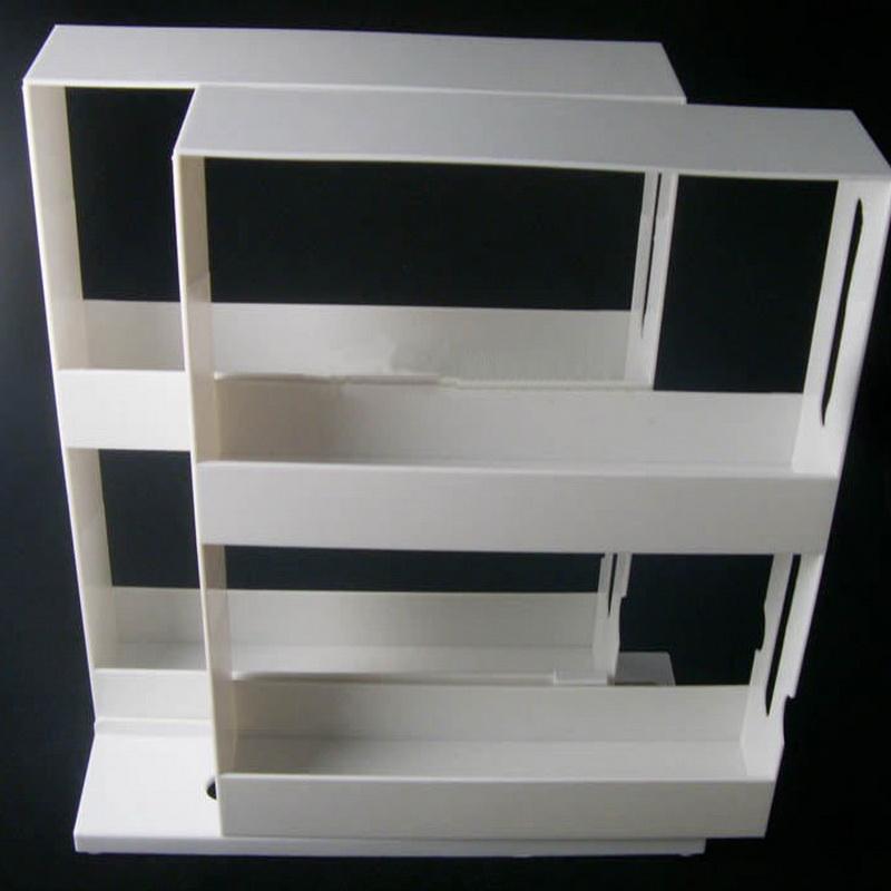 Sliding Spice Rack: 2 Tier Spice Rack Cabinet Holder Shelf Kitchen Organizer