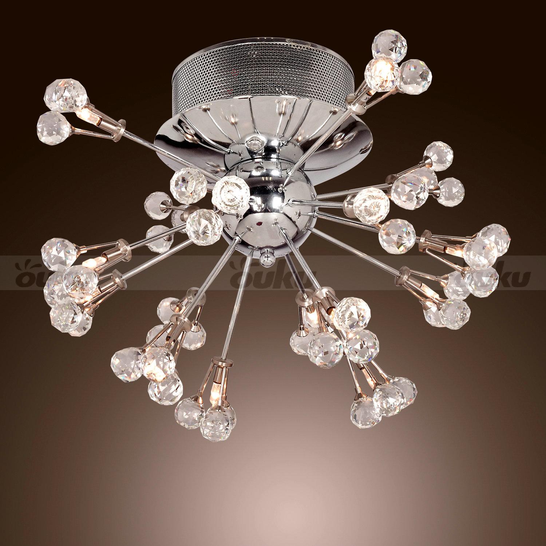 New modern contemporary k9 crystal chandelier pendant for Flush mount crystal chandelier lighting