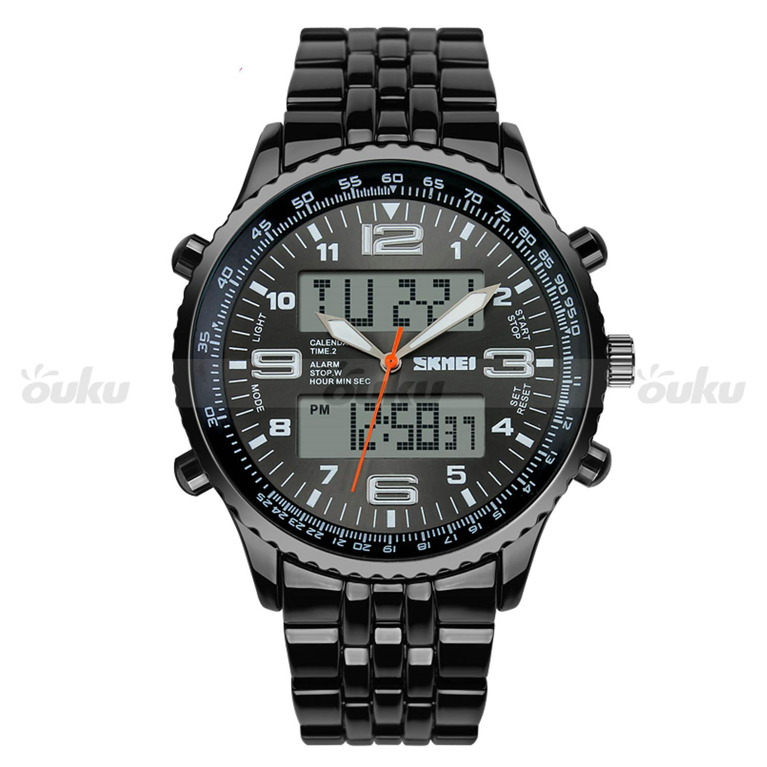 s dual time zones water resistant