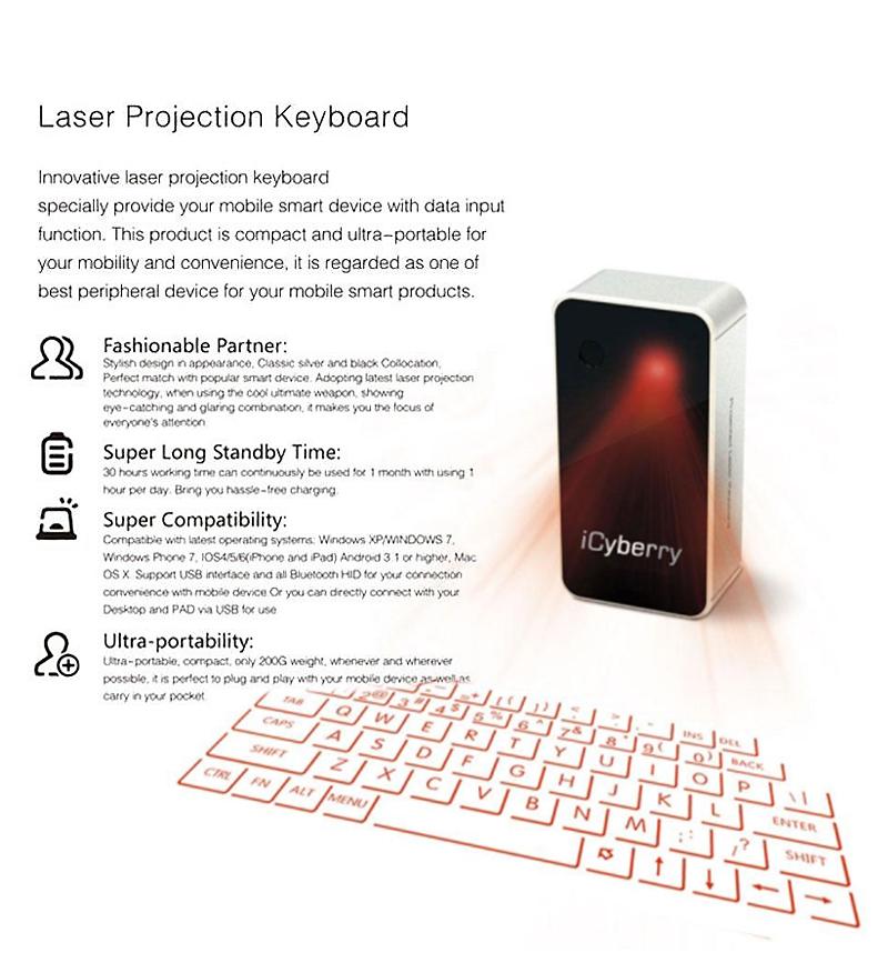projection keyboard iphone Compre-o no mercado livre por r$ 215,99 - compre em 12 parcelas - frete grátis encontre mais produtos de eletrônicos, Áudio e vídeo, projetores e telas.