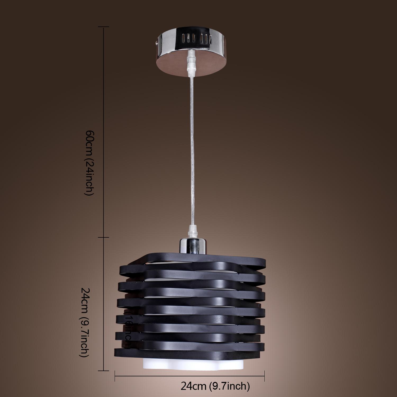 Industrial Modern Metal Pendant Lamp Ceiling Chandelier