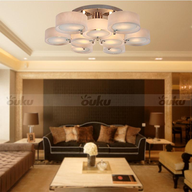 modern deckenlampen kronleuchter mit 9 lichts lampe f r. Black Bedroom Furniture Sets. Home Design Ideas