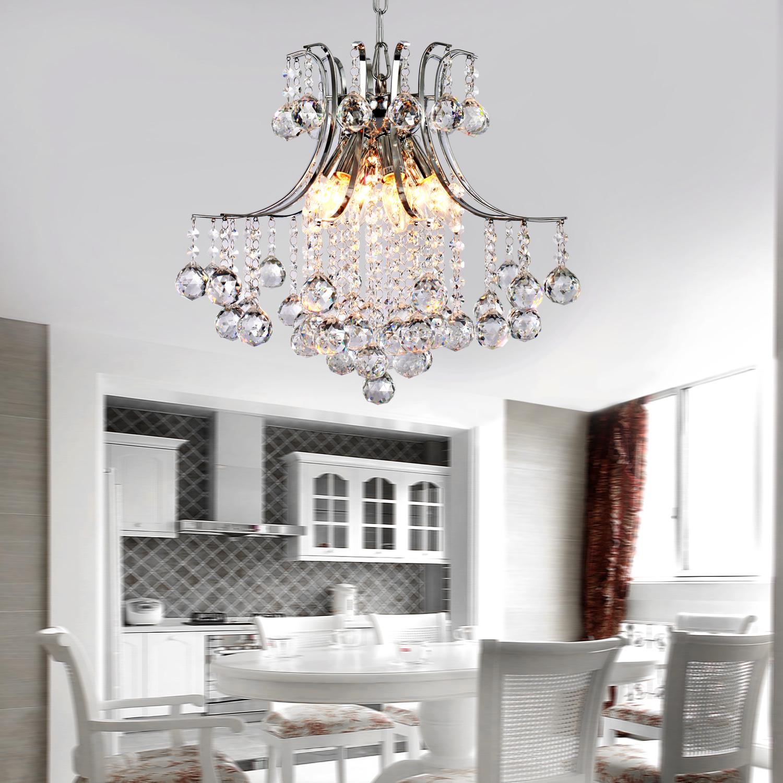 Lampada Di Cristallo Moderno Lampadario Da Soffitto Luce Ambientale #A05E2B 1500 1500 Sala Da Pranzo Lampadari