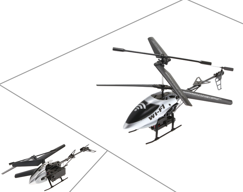 attop 3ch 1 3million pixels wifi camera rc helicopter with gyro for ios u0026 android