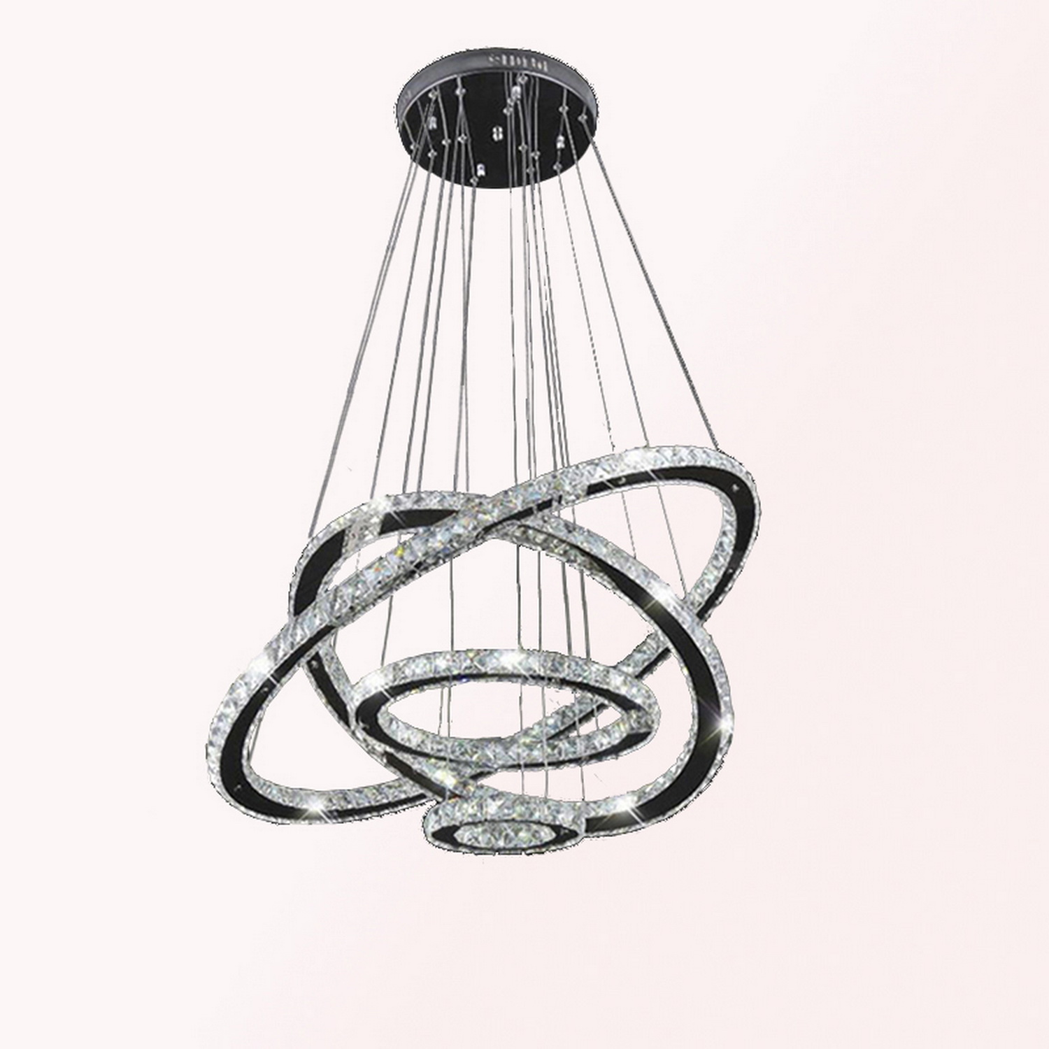 Led Lamp Fixture: Modern Galaxy Crystal Chandelier LED Lighting Fixture