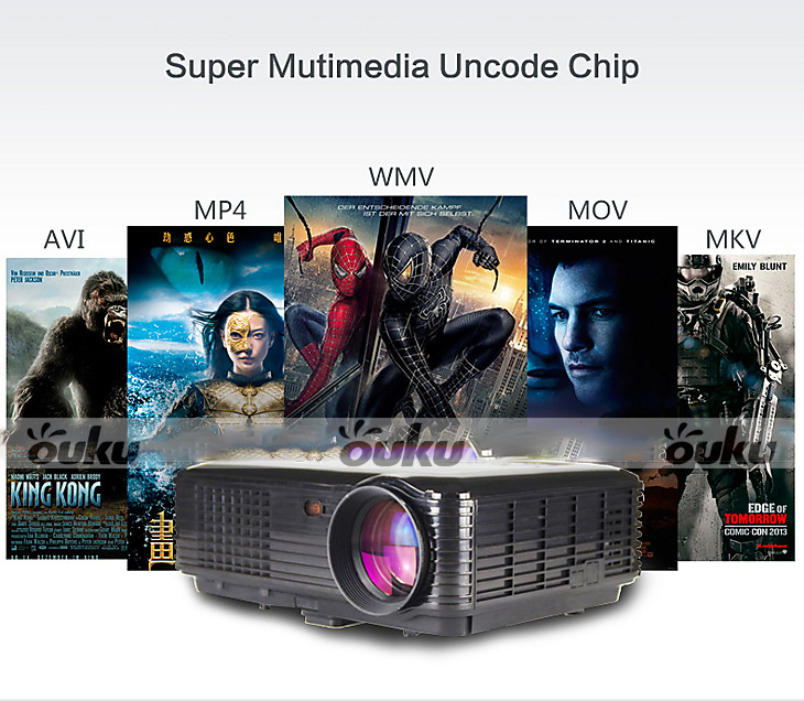 details about 3500 lumens 3d smart projector hd 1080p home business